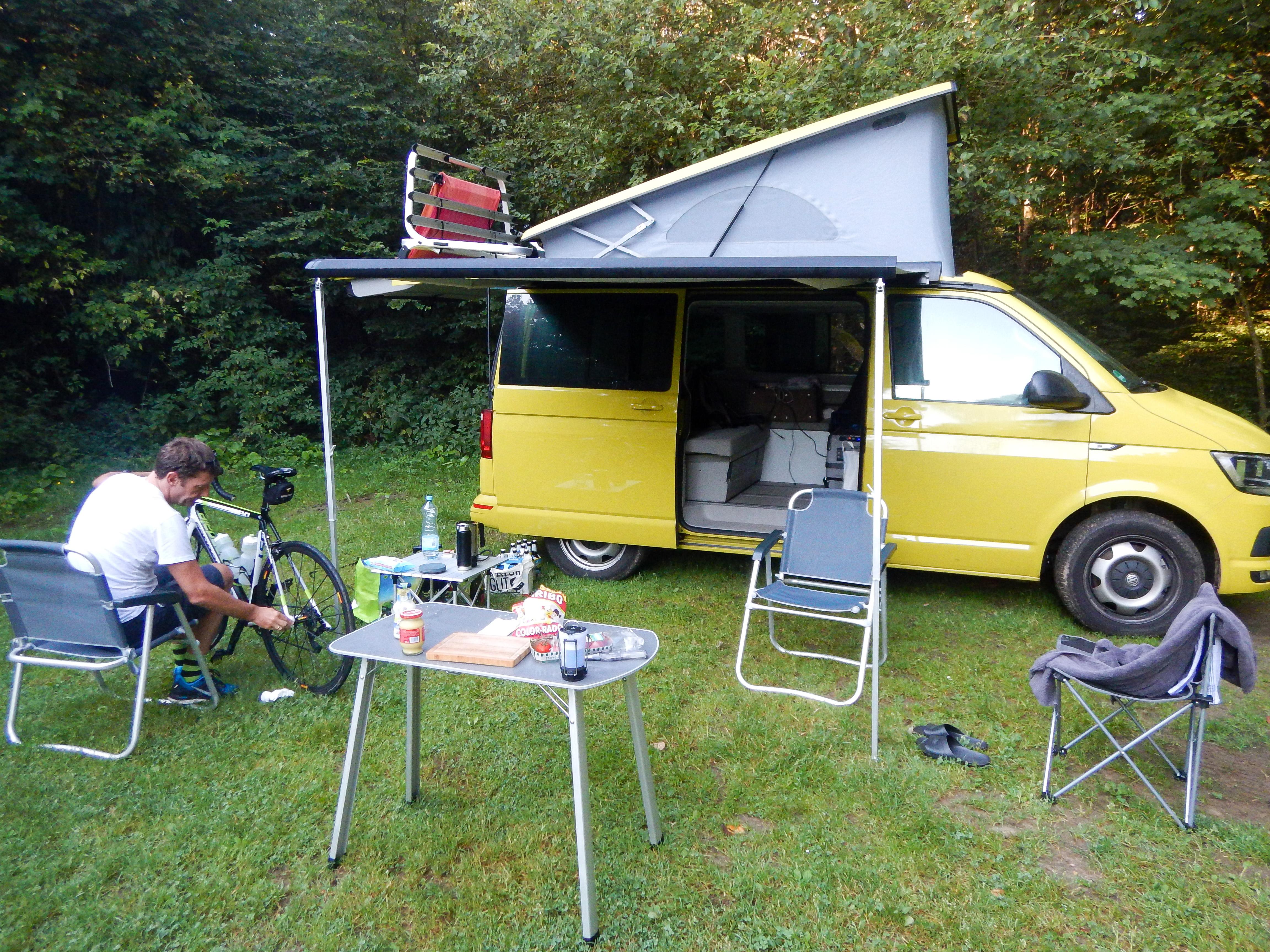 Campen in der Eifel